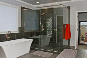before during after master bathroom project (36)