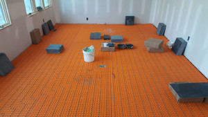 heated floor library project (2)