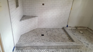 subway tile marble combination (13)