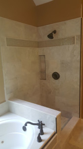 travetine glass tile combination (2)