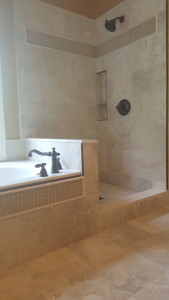 travetine glass tile combination (4)
