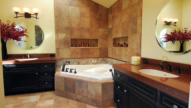New Bathroom Tile and Tub Installation